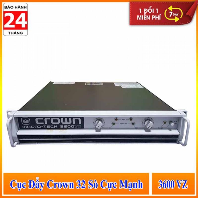 Cục Đẩy Công Suất Cực Mạnh CROWN 3600VZ