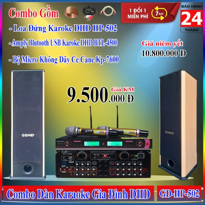 Dàn Karaoke Gia Đình DHD GD-HP-502