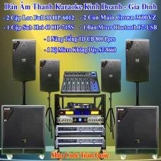 Dàn Âm Thanh Karaoke Khinh Doanh - Gia Đình 02