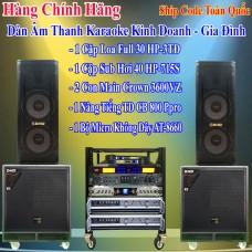 Dàn Âm Thanh Karaoke Khinh Doanh - Gia Đình 03
