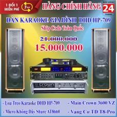 Dàn Karaoke Gia Đình DHD GD HP-709
