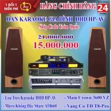 Dàn Karaoke Gia Đình DHD GD HP-AV