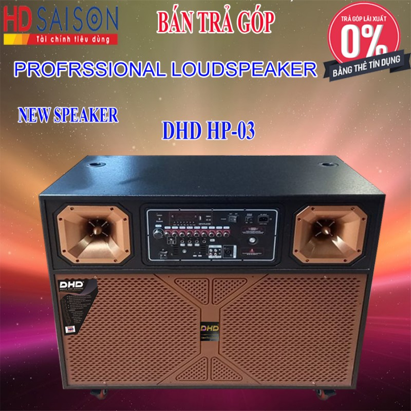 Loa Kéo Karaoke DHD HP-03