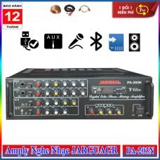 Amply Nghe Nhạc Bluetooth USB 8 Sò JARGUAGR PA-203N