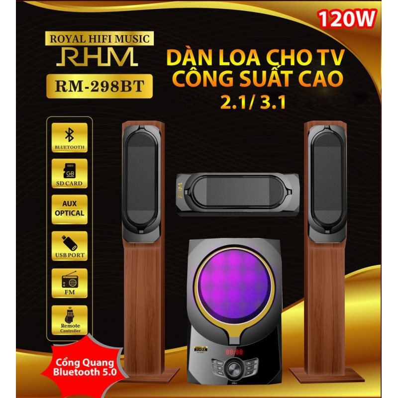 Loa 3.1 RHM RM-298 BT