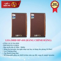 Loa Nghe Nhạc DHD HP-410 - Loa Trợ Lời Cho Dàn Karaoke