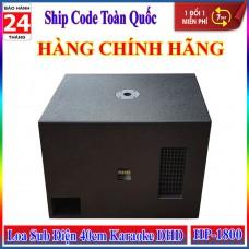 Loa Sub Điện 40cm Karaoke DHD HP-1800 Siêu Trầm