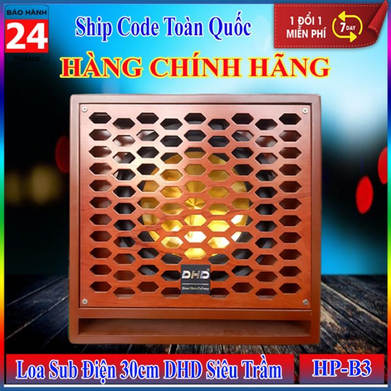 Loa Sub Điện 30cm DHD HP-B3 Gold Siêu Trầm