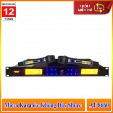 Micro Karaoke Không Dây SHURE AT 8660