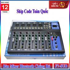 Bàn Mixer Yamaha F7-USB Chống Hú