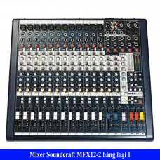 Bàn Mixer Soundcraft MFX12/2