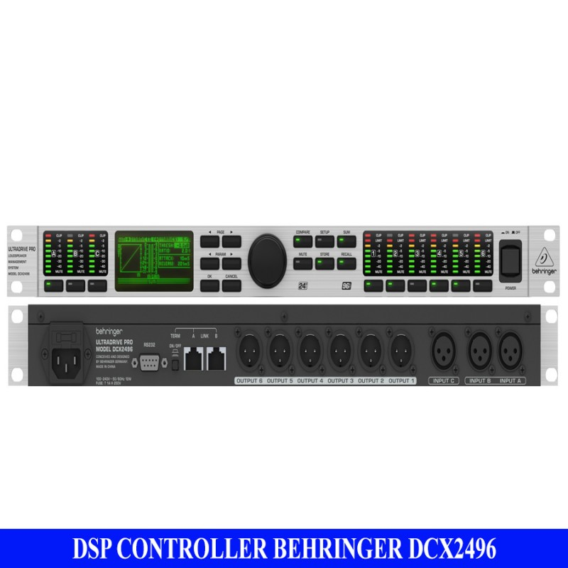 DSP CONTROLLER BEHRINGER DCX2496