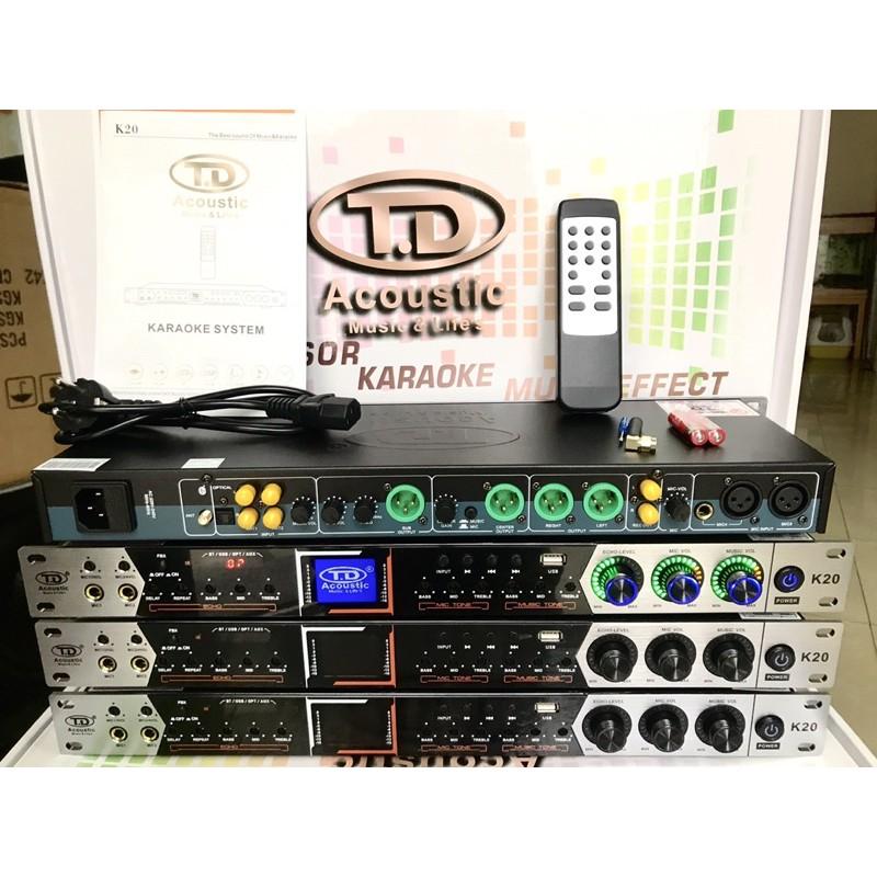 Vang Cơ TD Acoustic K20 Mẫu Mới 2021