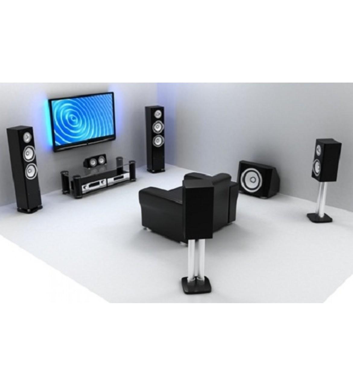 Hướng dẫn cách lắp đặt hệ thống âm thanh