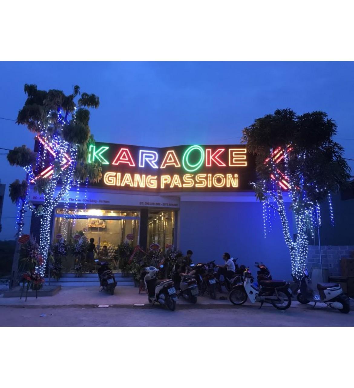 Thi công công trình karaoke Giang Passion tại Kim Bảng - Hà Nam